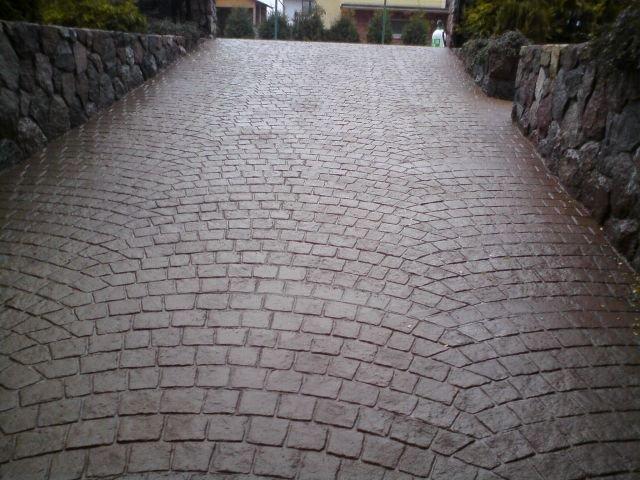 mönstrad betong pris